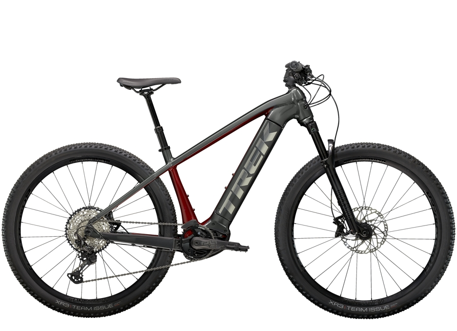 Trek Powerfly 7 L (29  wheel) Lithium Grey/Crimson